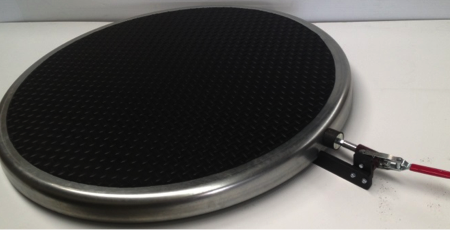Rotating Table with non-slip Black Mat